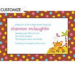 Custom Fisher Price Baby Shower Invitations