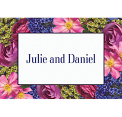 Garden Bouquet Custom Thank You Note