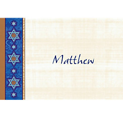 Judaic Traditions Custom Thank You Note