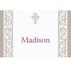 Blessed Day Custom Thank You Note