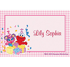 Abby Cadabby 1st Birthday Custom Thank You Note
