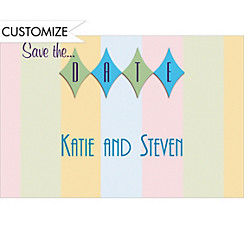 Informal Save-the-Date Custom Wedding Thank You Note
