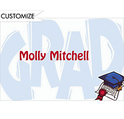 Giant Grad Custom Thank You Notes