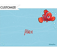 Nemo in Blue Water Custom Thank You Note