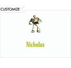 Buzz Lightyear Custom Thank You Note