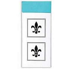 Fleur De Lis Envelope Seals 30ct
