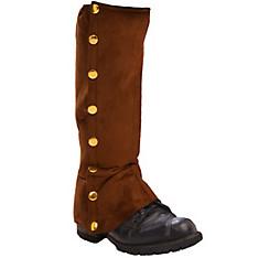 Steampunk Brown Spats