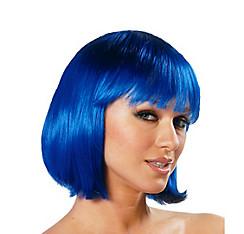 Charm Premium Blue Bob Wig