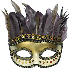 Owl Feather Masquerade Mask