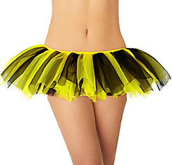 Adult Yellow and Black Tutu