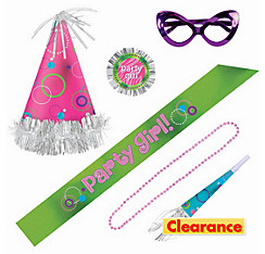 Party Girl Accessory Kit 6pc