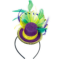 Fashion Mardi Gras Headband