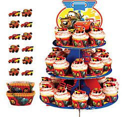 Cars Cupcake Kit For 24