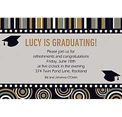 Custom Grad Inspiration Invitations