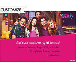 iCarly Custom Invitation