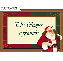 Magic of Christmas Custom Thank You Note