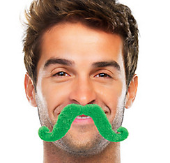 Green Handlebar Moustache
