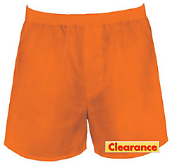 Orange Boxer Shorts
