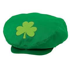 St. Patrick's Day Newsboy Hat