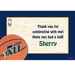 Utah Jazz Custom Thank You Note