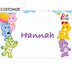 Care Bears Custom Thank You Note