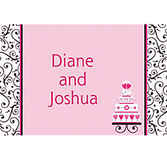 Custom Sweet Wedding Thank You Notes