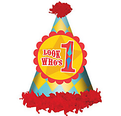 Fisher-Price 1st Birthday Circus Party Hat