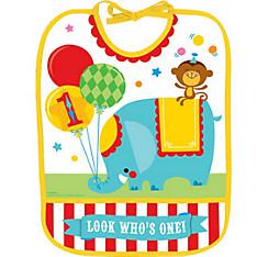 Fisher-Price 1st Birthday Circus Bib