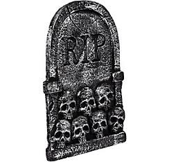Skulls Tombstone Decoration