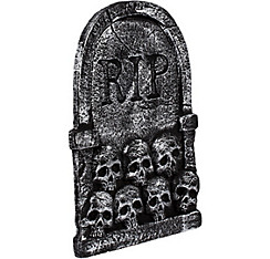 Skulls Tombstone Decoration