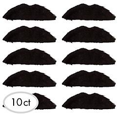 Disco Fever Moustaches 10ct