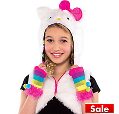 Girls Hello Kitty Hoodie