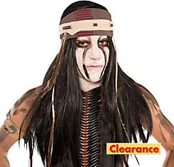 Tonto Wig with Headwrap