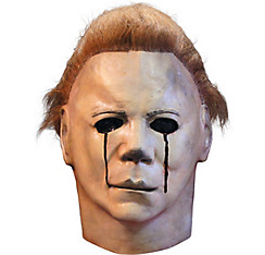 Latex Halloween II Blood Tears Michael Myers Mask