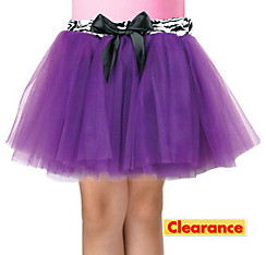 Girls Purple Fashion Tutu
