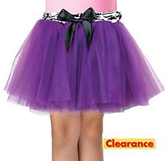 Girls Purple Fashion Tutu