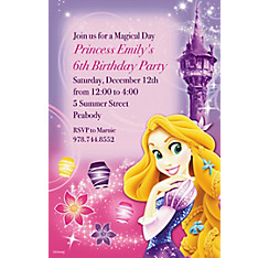 Tangled Custom Invitation