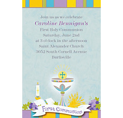 Joyous Communion Custom Invitation