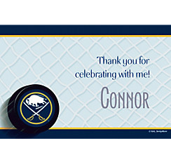 Buffalo Sabres Custom Thank You Note