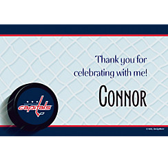 Washington Capitals Custom Thank You Note