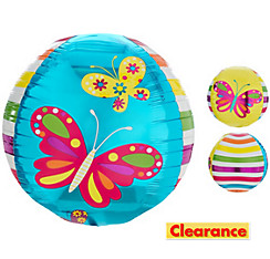 Orbz Spring Butterfly Balloon 16in