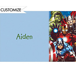 Avengers Custom Thank You Note