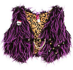 Girls Monster High Furry Vest