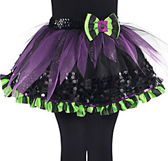 Girls Flutter Fairy Witch Tutu