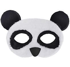 Child Plush Panda Mask