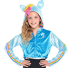 Child Rainbow Dash Hoodie - My Little Pony