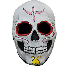 Sugar Skull Mask - Day of the Dead