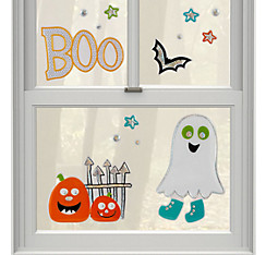Boo Gel Cling Decals 14ct
