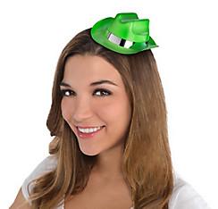 Neon Glitter Mini Cowboy Hat