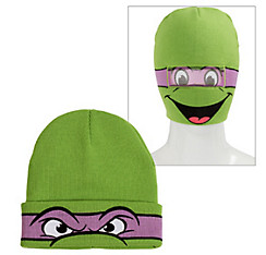 Teenage Mutant Ninja Turtles Roll-Down Mask Beanie